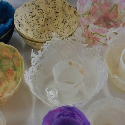 Bespoke Delicate Paper Bowls